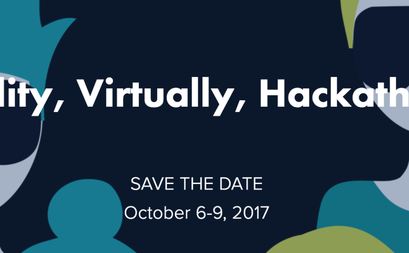 Reality, Virtually, Hackathon This Weekend!